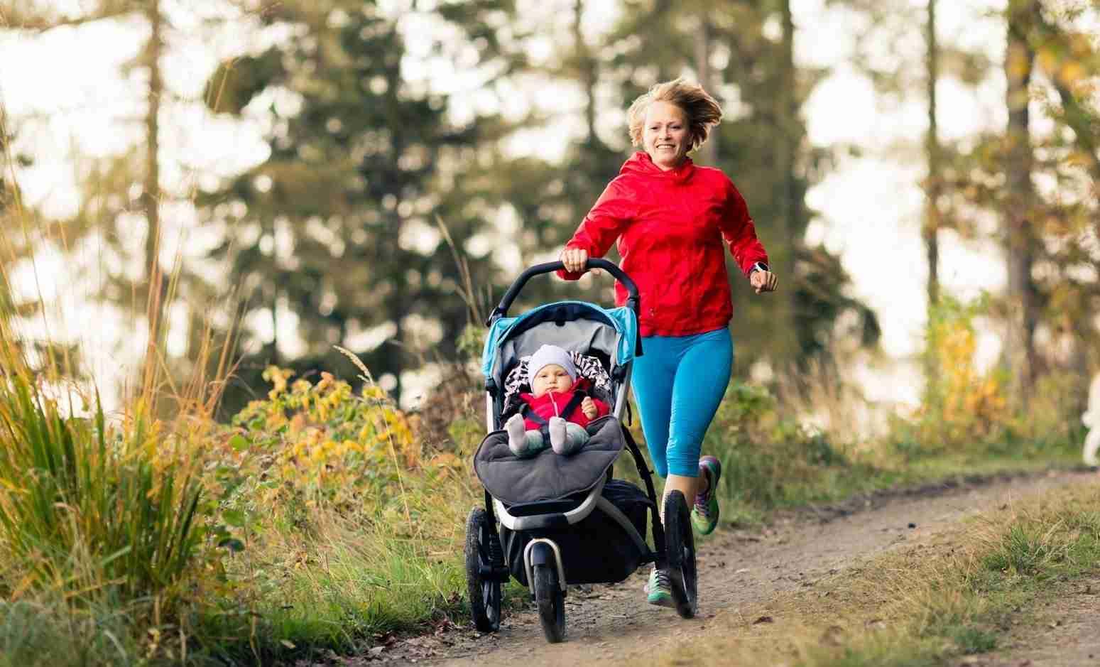 mental health benefits of running postpartum